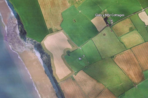 vale of glamorgan holiday cottage location